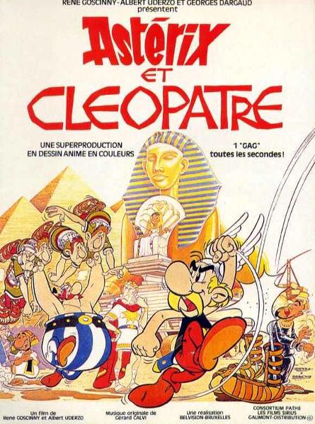 Astérix et Cléopâtre affiche