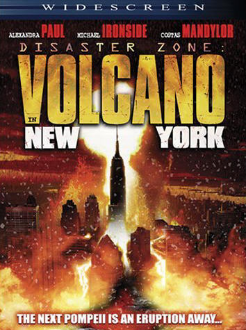 Volcan a  New York affiche