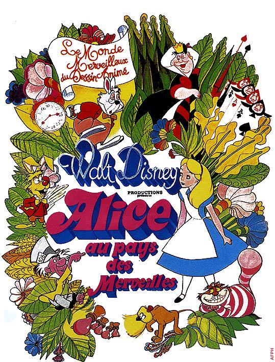 vos derniers achats DVD - Page 7 Aliceaupaysdesmerveillesdisney