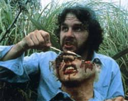 Peter Jackson en plein déjeuner