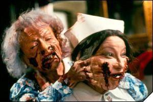 Lionel et Paquita en plein enfer gore dans Braindead