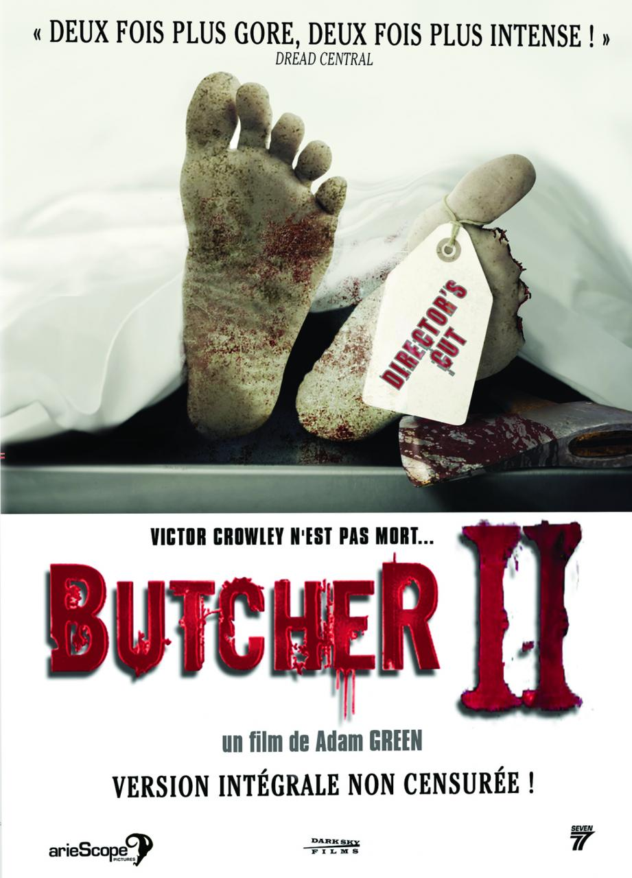 Butcher 3 ( Hatchet III) affiche