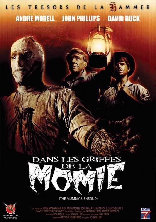 Dans les griffes de la momie affiche