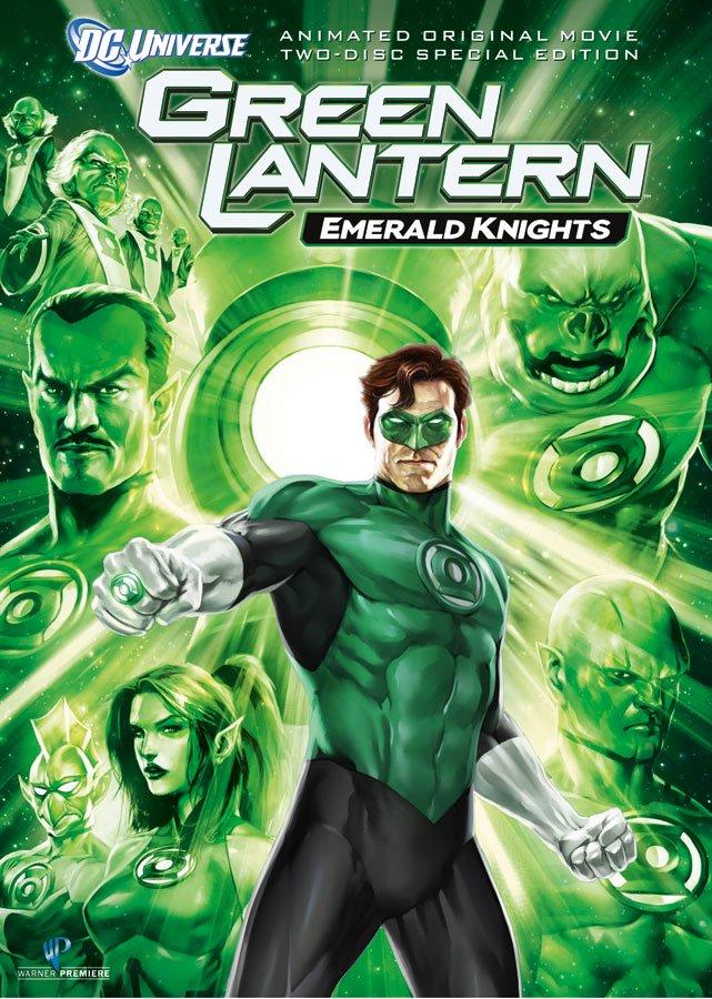 Green Lantern : Chevaliers d'émeraude affiche