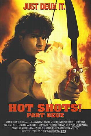 Hot Shots 2 (1993) 720p XviD CM Lynch mkv[teams overs net] preview 0