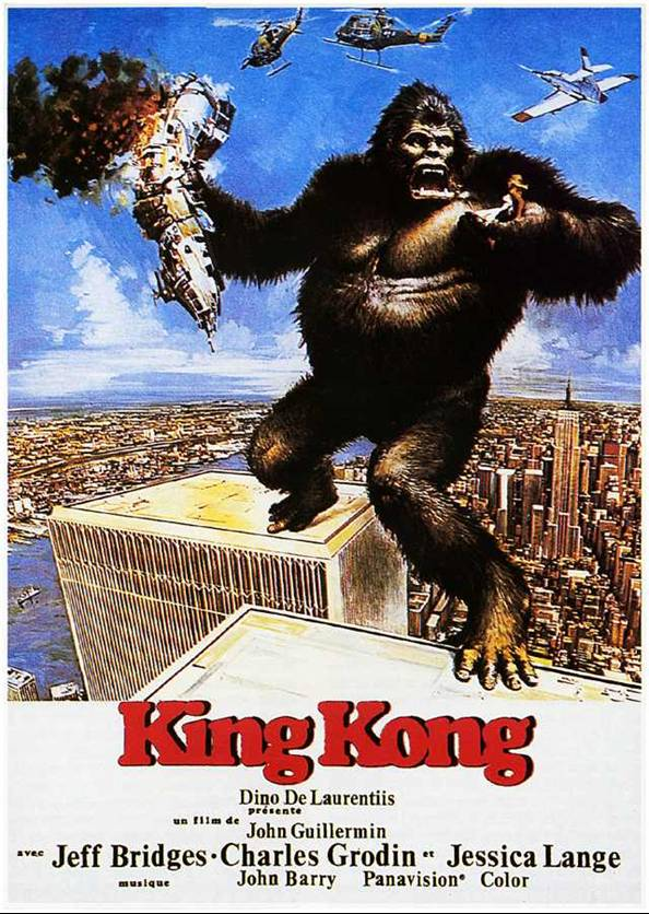 king kong (john guillermin, usa 1976) : Remember it for later