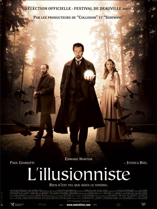 L'Illusionniste (2006) affiche