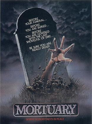 Mortuary (1984) affiche