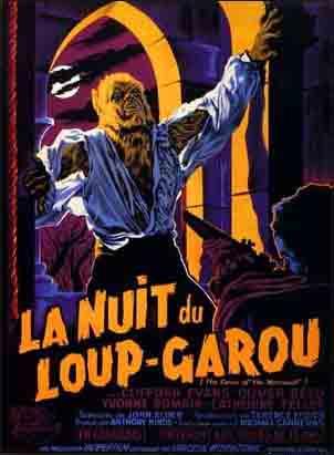 La Nuit du loup-garou (1960) affiche