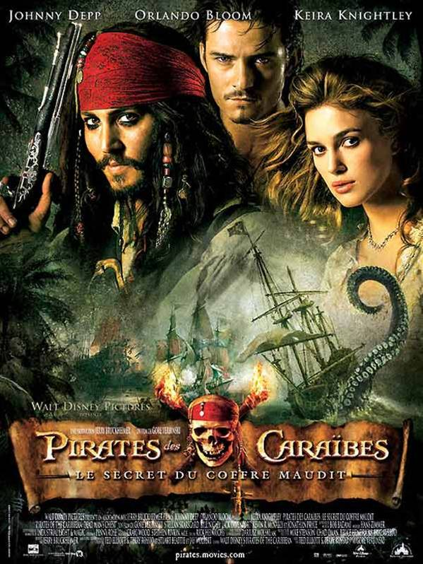 Pirates des Caraibes 2 : le Secret du Coffre Maudit streaming