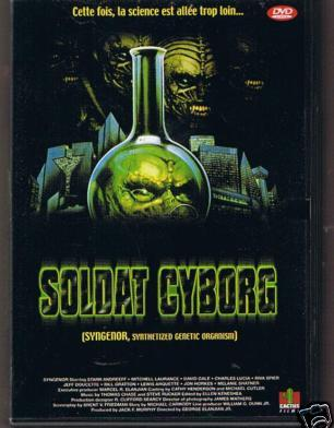 Soldat cyborg affiche