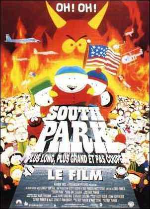 Parlez-nous des derniers films d'animation (non Disney) que vous avez vus ! Southpark