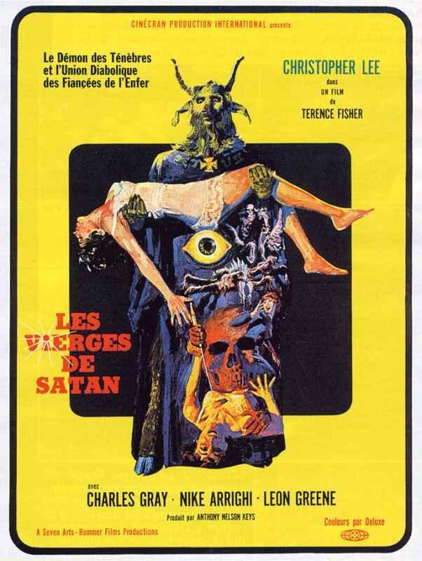 Les Vierges de Satan affiche