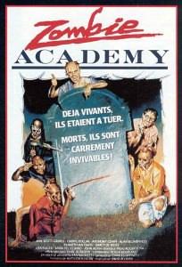 Zombie Academy affiche