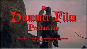 L'un des logos de la Hammer