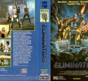 Eliminators (VHS Australienne)
