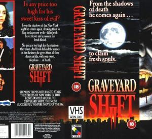 Graveyard Shift (British VHS)