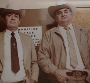 Le shérif Jim Boutwell et le Texas Ranger Bob Prince