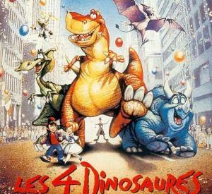 Les 4 Dinosaures et le Cirque Magique