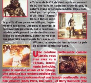 VHS française (dos)