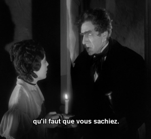 Sidney Fox face à Bela Lugosi