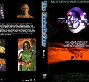 The Fantastic Four (Jaquette DVD)