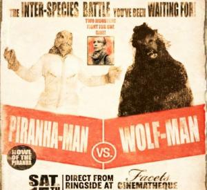 Piranha-Man Vs. Wolf-Man : Howl of the Piranha