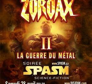 Zordax 2 : La Guerre du Métal