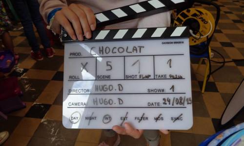 Tournage de Chocolat - Jour 1