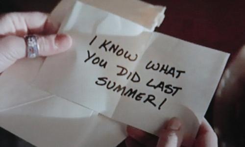 Souviens-toi... l'été dernier, le retour