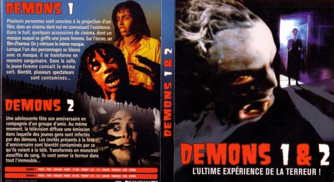 Jaquette DVD France Demons 1 & 2