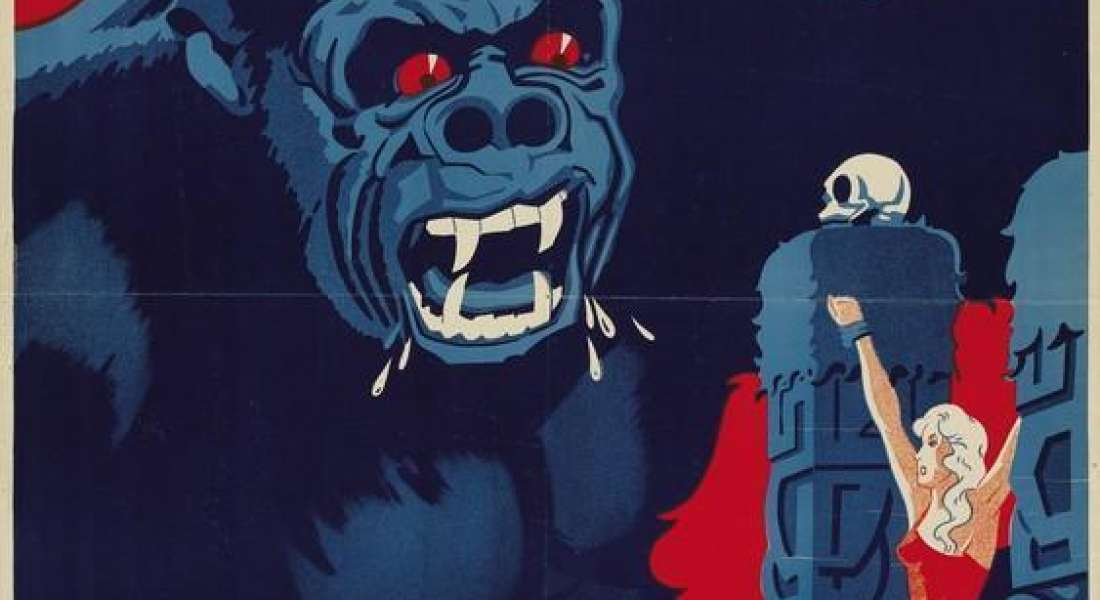 King Kong (Danish movie poster)