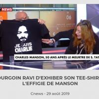 Bourgoin exprime son respect à Sharon Tate en 2019 pour les 50 ans de son assassinat
