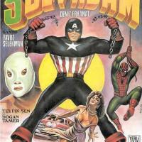 Captain America and Santo vs. Spider-Man