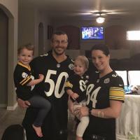Chris Watts avec sa femme et ses 2 filles