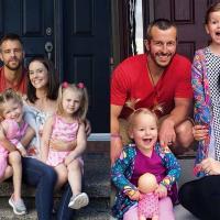 Le vrai Chris Watts, et sa famille