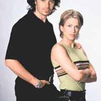 Cameron Daddo & Christina Cox