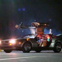 Retour Vers le Présent - La DeLorean