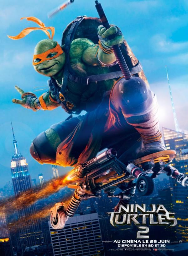 Les tortues ninja tous les films sur - Le nom des tortue ninja ...