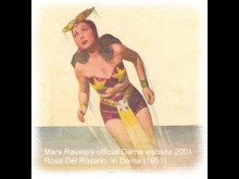 ROSA DEL ROSARIO as DARNA 1951 video clip