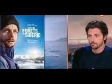 """""""Dans les forêts de Sibérie"""" : Raphaël Personnaz au JT 20h de France 2 - 4/06"""