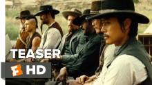 The Magnificent Seven International TEASER TRAILER 1 (2016) - Denzel Washington Western HD