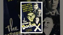 The Return Of Doctor X Trailer
