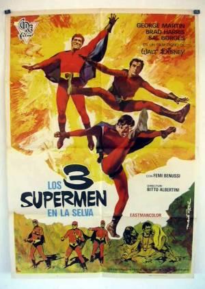 3 Supermen dans la Jungle