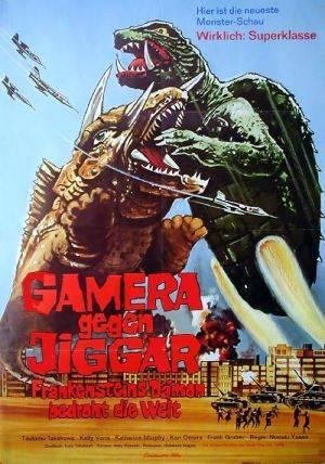 Gamera Vs. Jiger