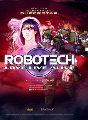 Robotech : Love Live Alive