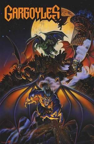 Gargoyles: les anges de la nuit