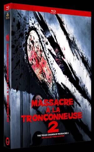 Massacre à la Tronconneuse 2 Blu-Ray