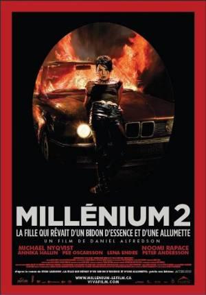 Millénium 2: La fille qui rêvait d'un bidon d'essence et d'une allumette