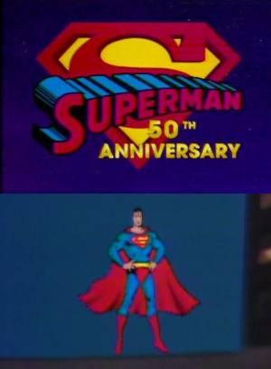 Superman 50e Anniversaire